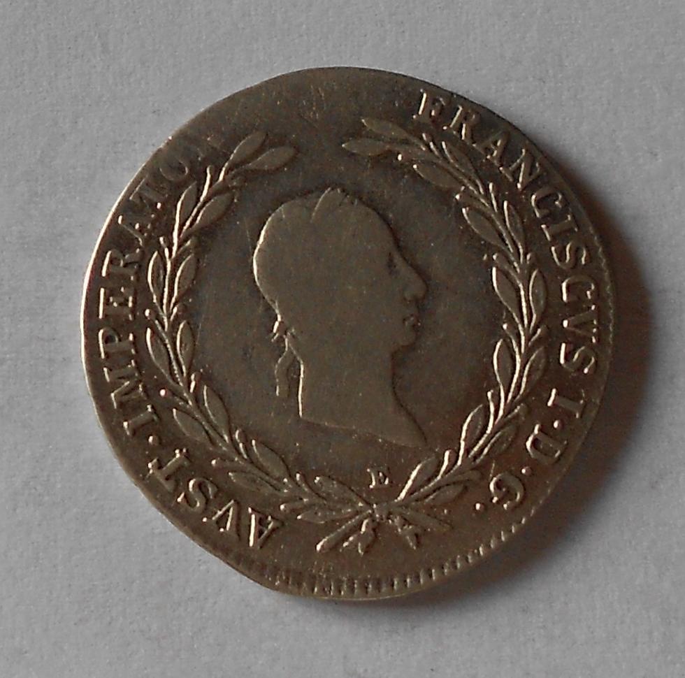 Rakousko 20 Krejcar 1825 E František II.