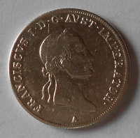 Rakousko 20 Krejcar 1831 A František II. pěkný