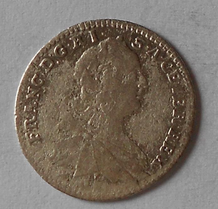 Rakousko 3 Krejcar 1763 HAL František Lotrinský