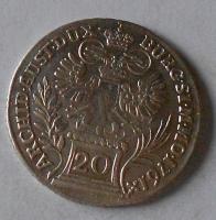 Rakousko – Gratz 20 Krejcar 1761 Marie Terezie