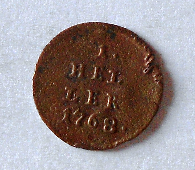 Rakousko Haléř 1765 Marie Terezie