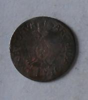 Rakousko – Halle 1 Krejcar 1711-40 bez letopočtu Karel VI.