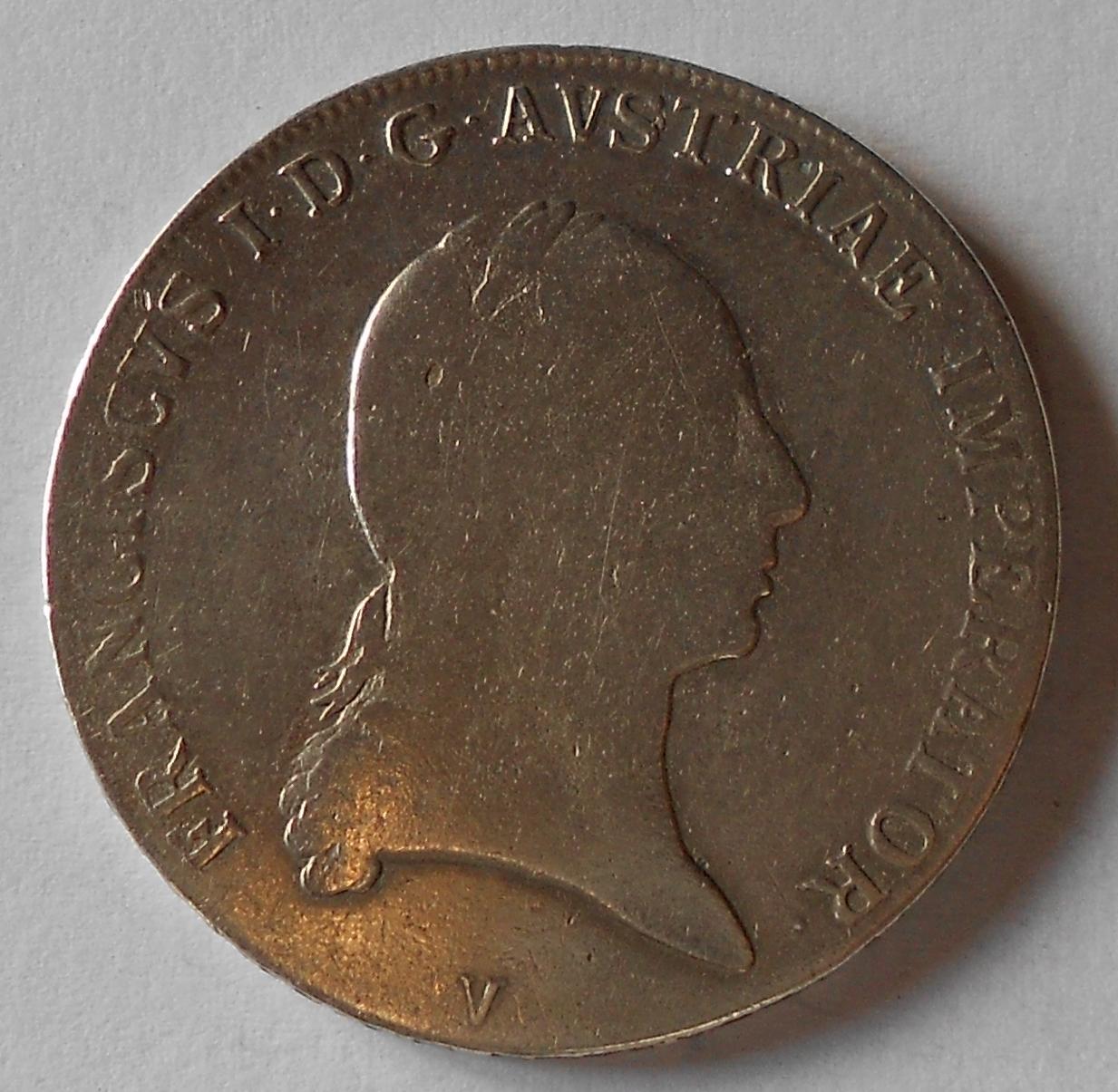 Rakousko Tolar konvenční 1818 V František II.