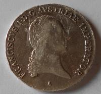 Rakousko Tolar konvenční 1822 A František II.