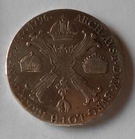 Rakousko Tolar křížový 1796 F František II., stopa, měl ouško