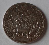 Rakousko – Vídeň 20 Krejcar 1764 Marie Terezie