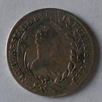 Rakousko – Vídeň 20 Krejcar 1765 Marie Terezie