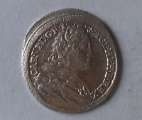Rakousko – Vídeň 3 Krejcar 1724 Karel VI.