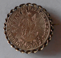 Uhry 17 Krejcar 1762 Marie Terezie, jako šperk