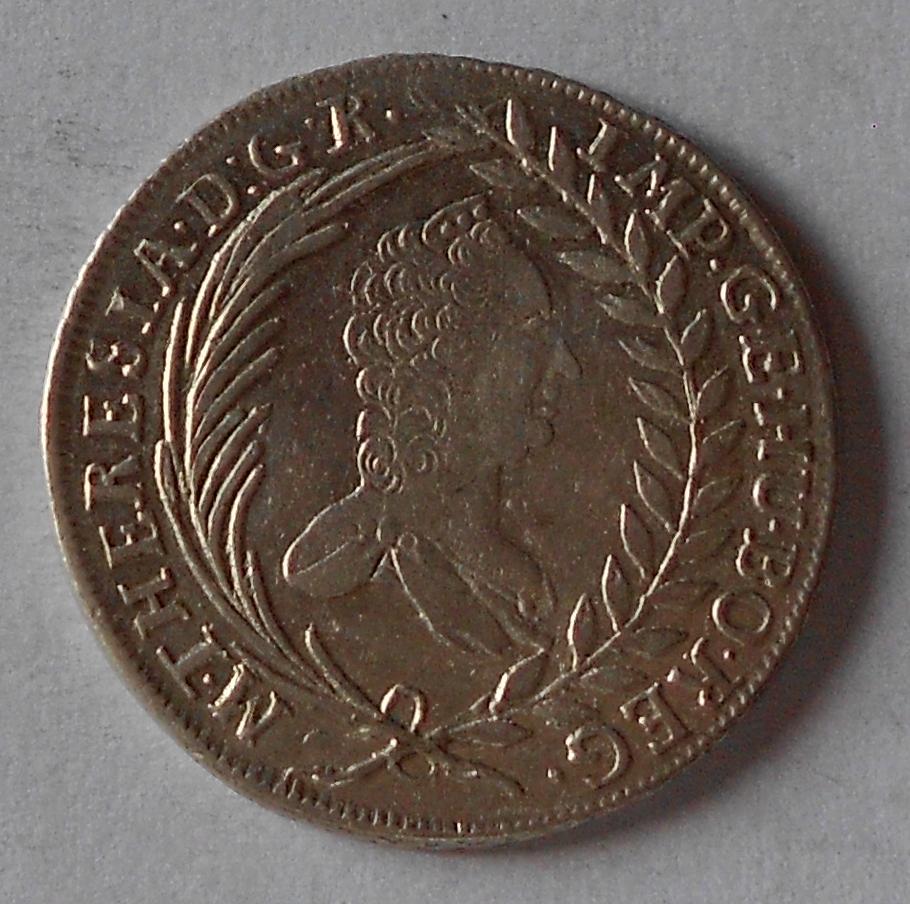 Uhry 20 Krejcar 1765 KB Marie Terezie