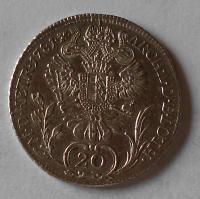 Uhry 20 Krejcar 1781 B Josef II.