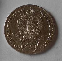 Uhry 20 Krejcar 1794 B František II.