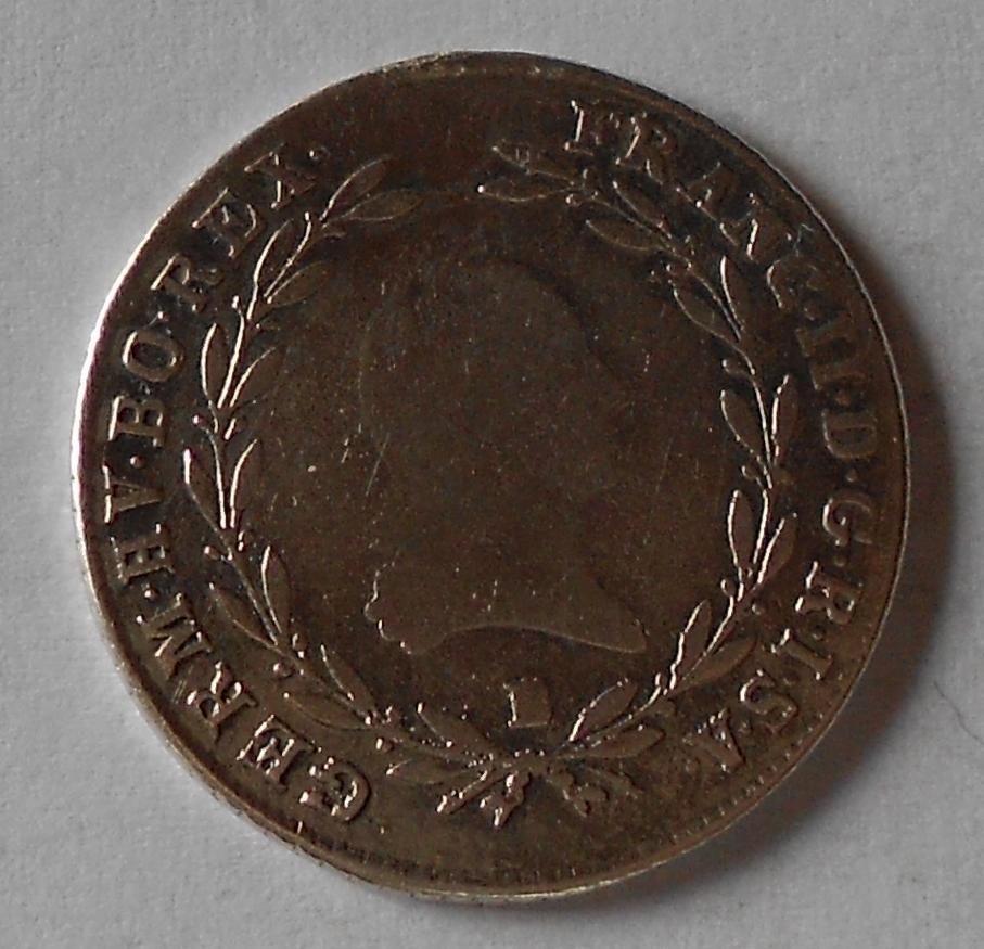 Uhry 20 Krejcar 1802 B František II.