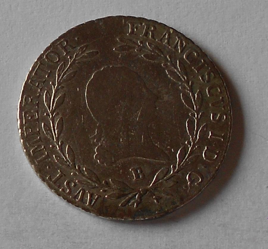 Uhry 20Krejcar 1808 B František II.