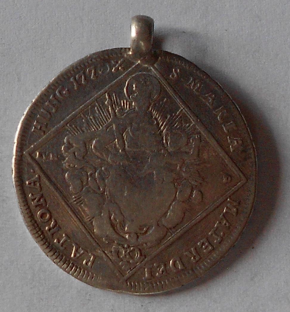 Uhry 30 Krejcar 1770 Marie Terezie, dobové ouško