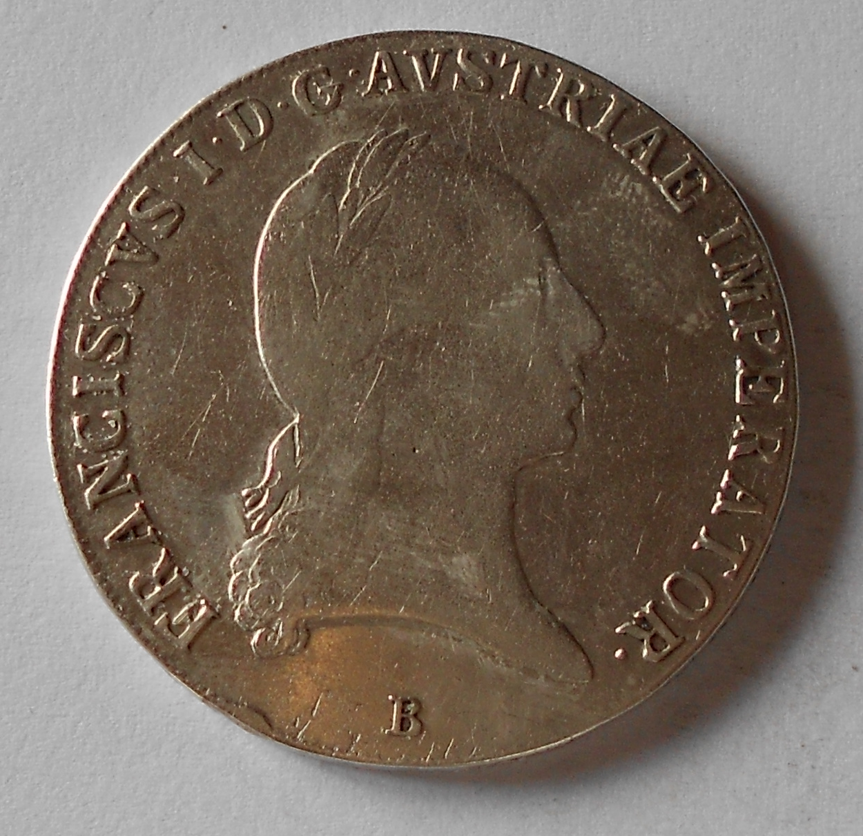 Uhry Tolar konvenční 1822 B František II.