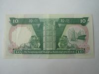 10 Dollar, 1989, Hong-Kong
