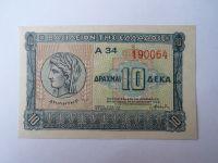 10 Drachem, 1939, Řecko