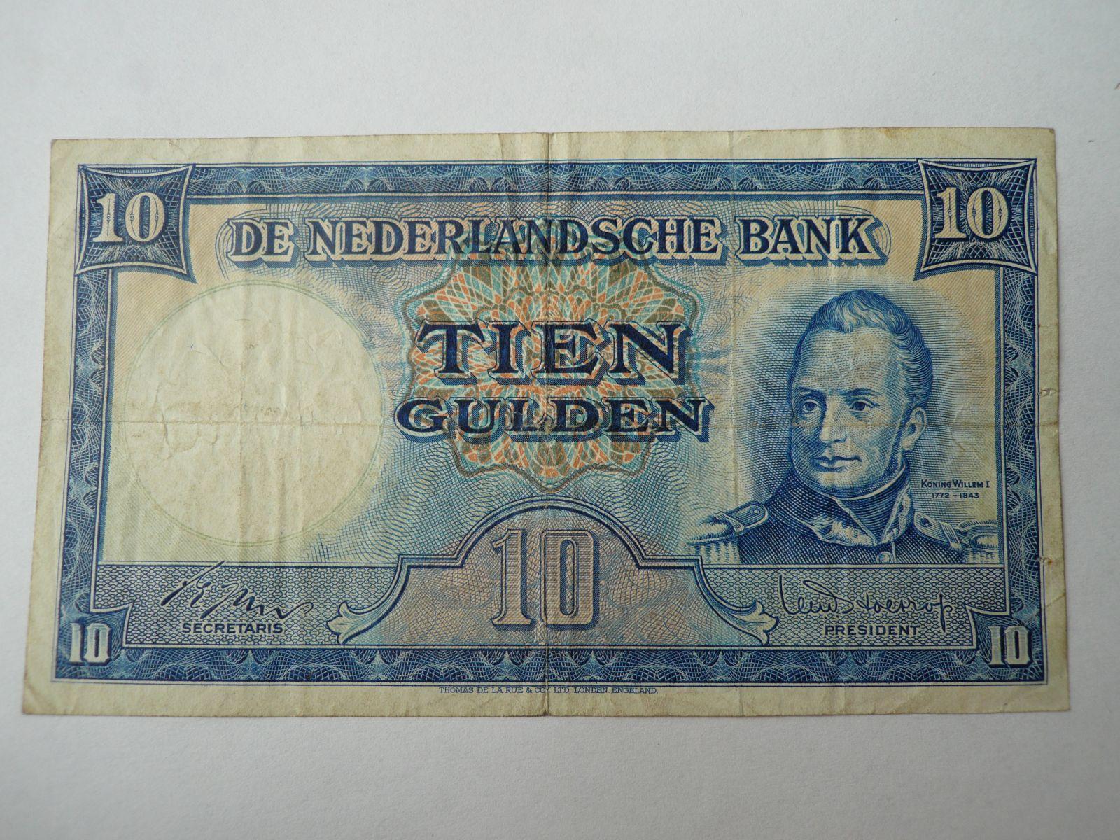 10 Gulden, 1945, Nizozemí