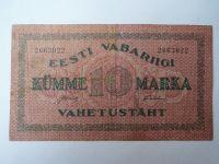 10 Marka - červená, Estonsko