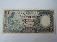 10 Rupií, 1958, Indonésie