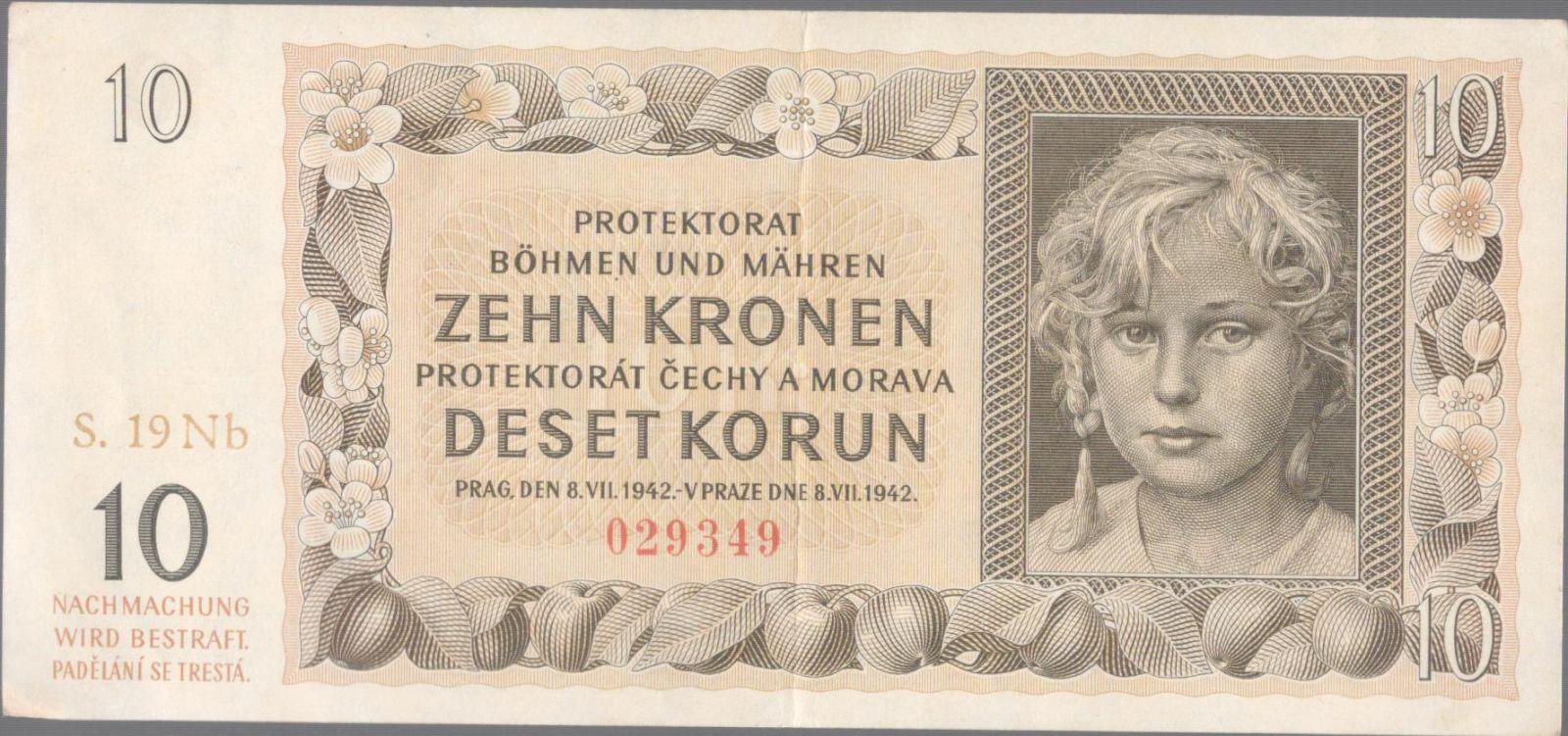 10K/1942/, stav 1, série 19 Nb