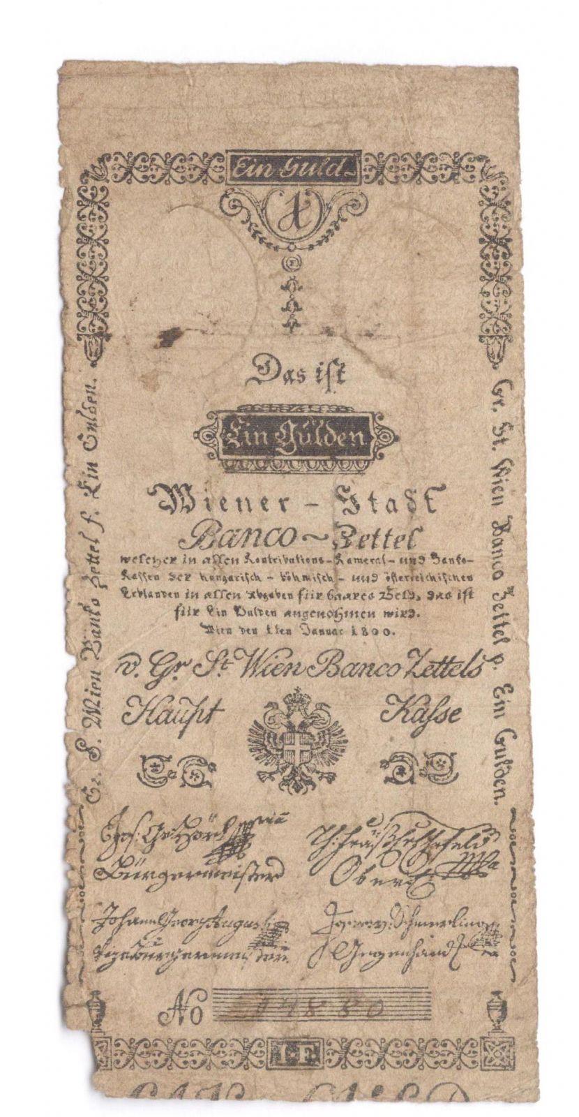 1Gulden/1800/, stav 4
