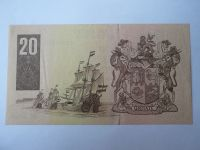 20 Rand - hnědá-lodě, Jižní Afrika