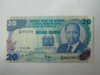 20 Schilling, 1984, Keňa