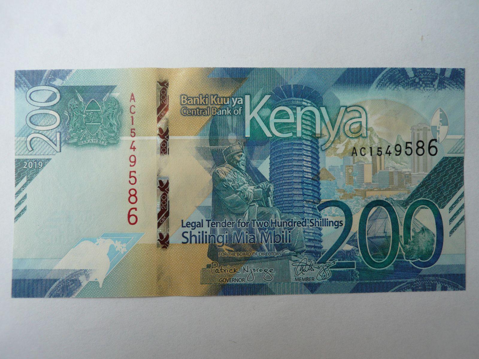 200 Schilling, 2019, Keňa