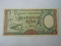 25 Rupií, 1958, Indonésie