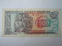 500 Leke, 1991, Albánie