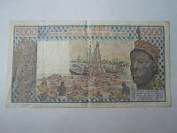5000 Frank, 1982, Východní Afrika