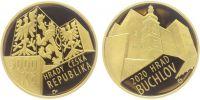5000 Kč(2020-hrad Buchlov), stav PROOF, etue a certifikát