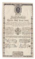 5Gulden/1806/, stav 2+, číslo 72442, velmi pěkně zachovalý