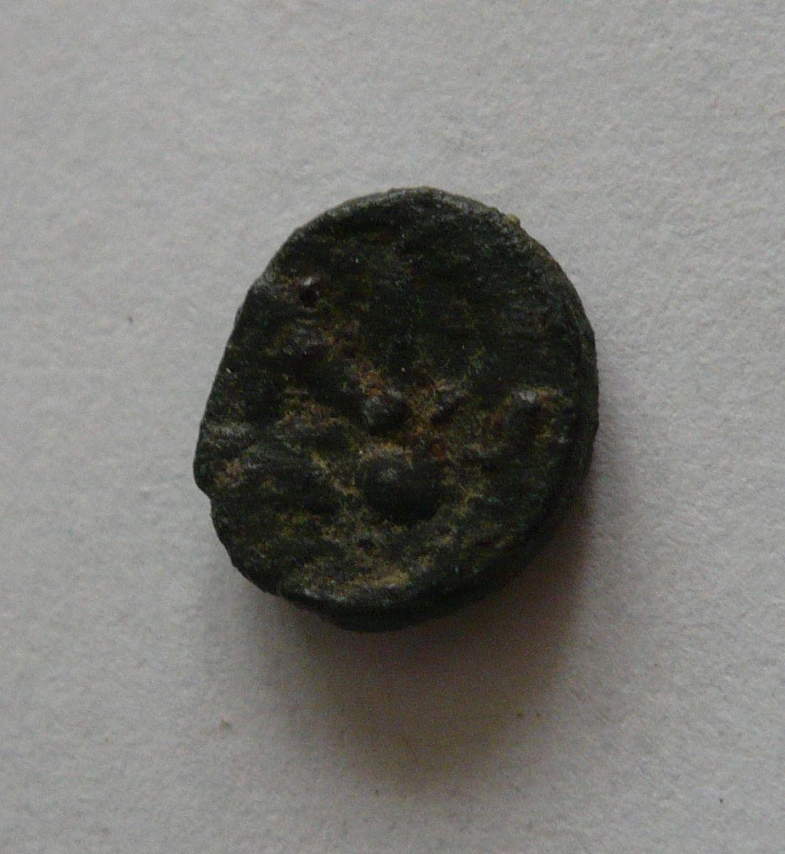 AE-4 Nommus, Anastasius, 491-518, Byzanc