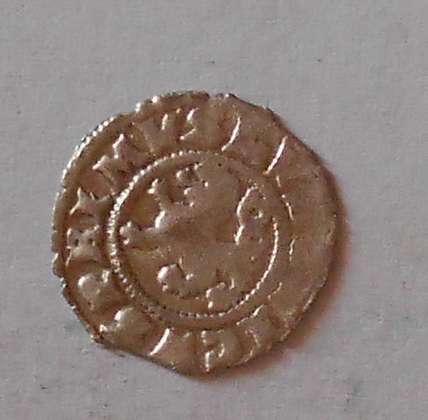 Čechy Bílý peníz 1516-26 Bez letopočtu Ludvík Jagelonský, jednostranný