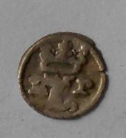 Čechy Malý Peníz 1516-1526 Ludvík Jagellonský