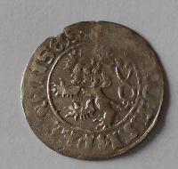 Čechy Pražský Groš 1458-1471 Jiří z Poděbrad
