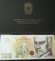 Oceněný nepřijatý návrh pamětní bankovky 100Kč 2019 - Alois Rašín, série B, originální balení STC