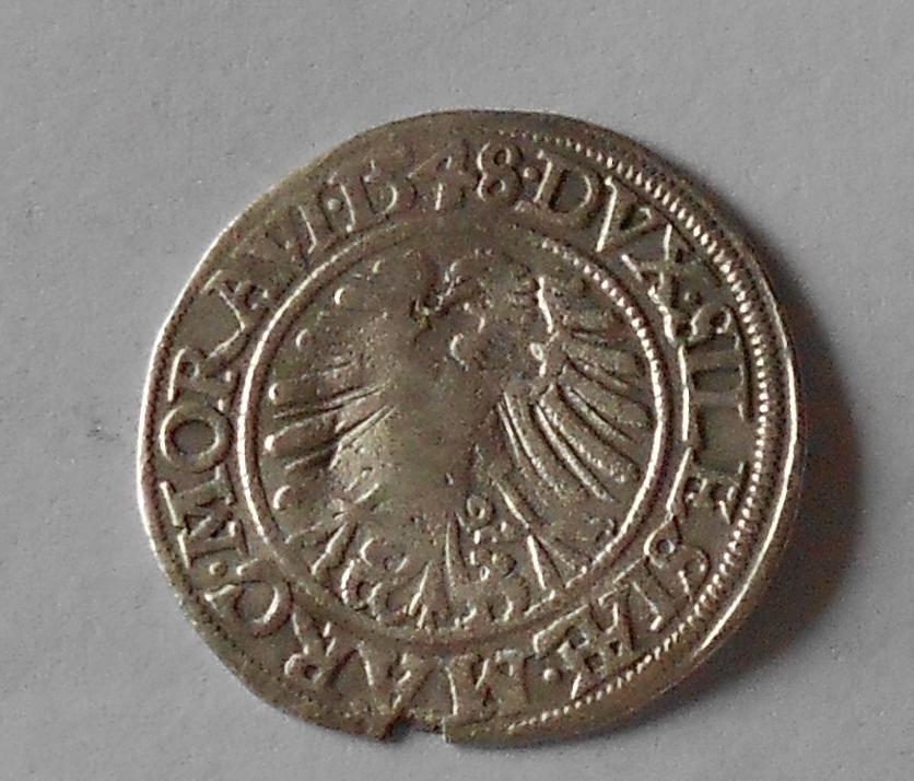 Slezsko – Vratislav Groš 1548 Ferdinand I.