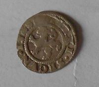 Čechy Bílý Peníz 1568 Maxmilián II.