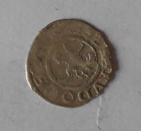 Čechy Bílý Peníz 1592 Rudolf II.