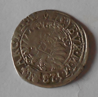 Čechy – Kutná Hora 3 Krejcar 1628 Ferdinand II.