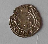 Čechy – Kutná Hora Bílý Peníz 1566 Maxmilián II.