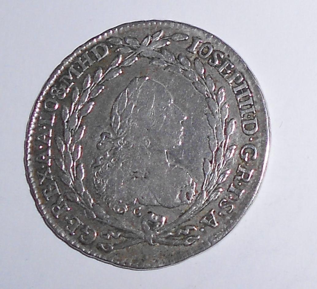 Čechy – Praha 20 Krejcar 1778 Josef II.