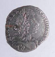 Čechy – Praha 3 Krejcar 1725 Karel VI.