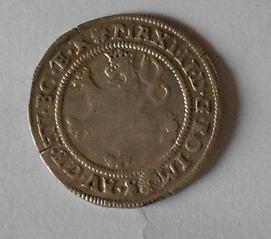 Čechy – Praha Bílý Groš 1574 Maxmilián II.