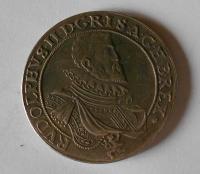 Čechy – Praha Tolar 1609 Rudolf II., novoražba