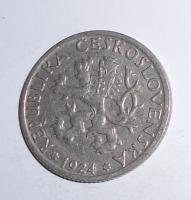 ČSR 1 Koruna 1924